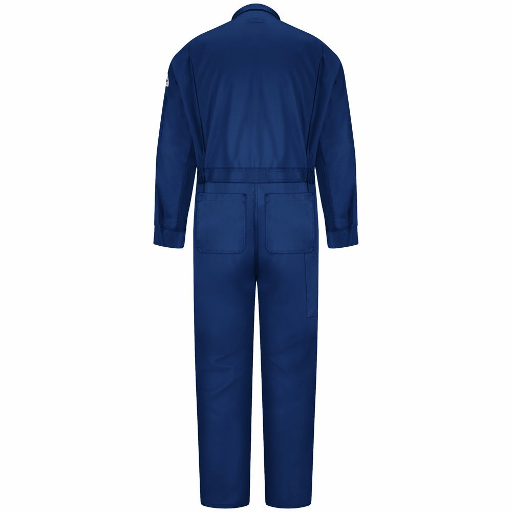 Bulwark Flame Resistant Cotton//Nylon ComforTouch Deluxe Coverall