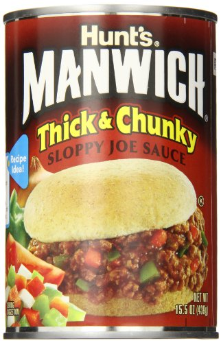 (Manwich Thick and Chunky Sloppy Joe Sauce, 15.5 oz)