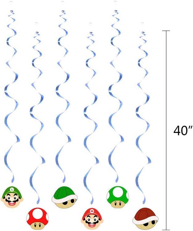 Super Mario Birthday Party Supplies Set with Mario Balloons Super ...