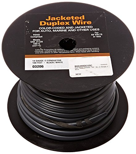 - Deka East Penn (03206) 100' 14-2 Gauge Jacketed Wire