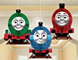 Thomas And Friends Honeycomb Hanging Decorations - Set of 3