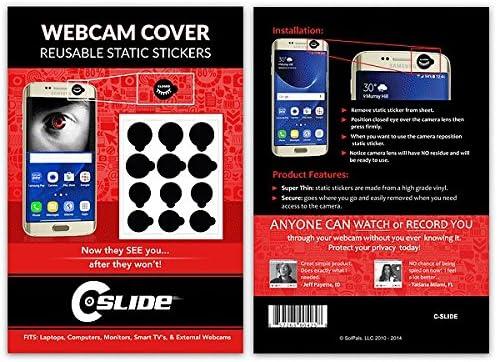 C-Slide - Pegatinas Adhesivas para Smartphone, 12 Unidades, Color ...