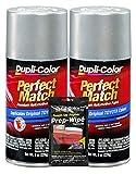 Dupli-Color Millennium Silver (Metallic) Exact-Match Automotive Paint for Toyota Vehicles - 8 oz, Bundles Prep Wipe (3 Items)