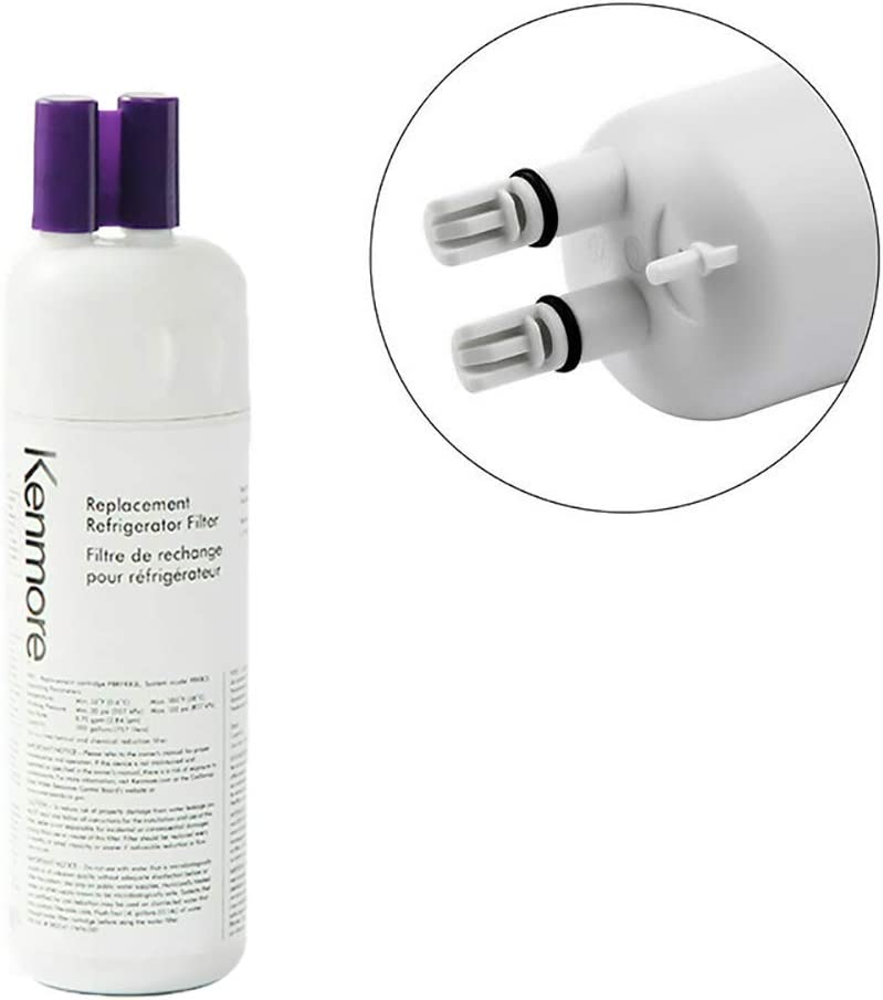 Kenmore Refrigerator Replacement 1, ,9930,9081WaterFilter, White, (2 PACKS): Kitchen & Dining