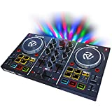 "numark Party Mix Starter DJ Controller with Built In Sound Card & Light Show & Virtual LE Software, 2"" x 12.80"" x 7.75"""