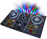 Numark Party Mix – Starter DJ Controller with Built-In Sound Card & Light Show, and DJ Software...