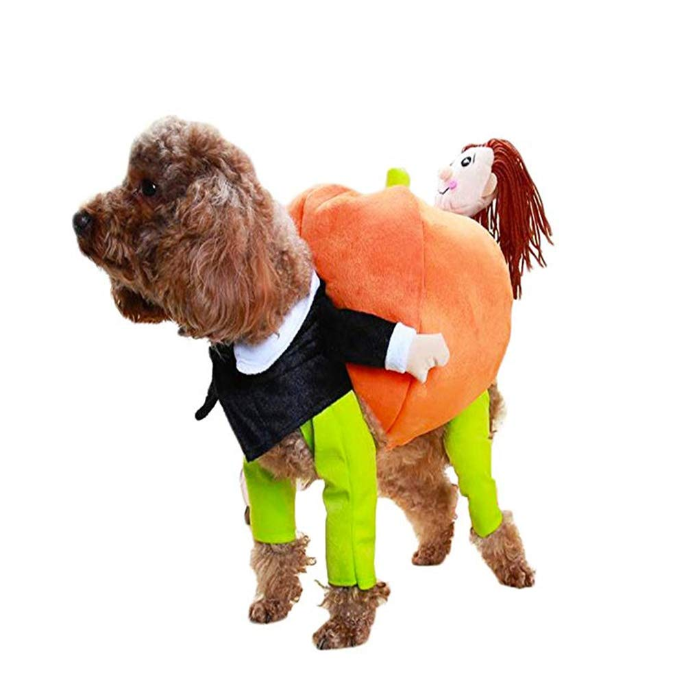 S Pet Costume,Dog Cat Suit,Christmas Halloween Pets Clothing,Funny Clothes for Cats and Dogs,S