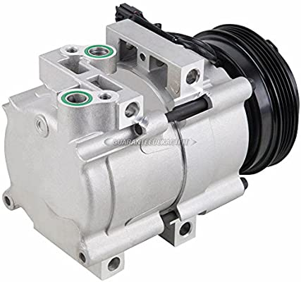 AC Compressor & A/C Clutch For Kia Sorento 2003 2004 2005 2006 - BuyAutoParts 60-02096NA New
