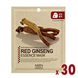 Pack of 30, The Elixir Beauty Facial Mask Sheet, Highly-Concentrated Full Face Mask Pack, Red Ginseng Review