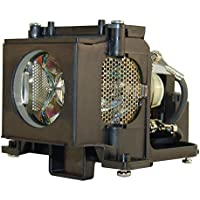 AuraBeam Sanyo PLC-XW55 Projector Replacement Lamp with Housing