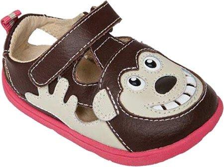 Girls The Size 10 Brown Shoes Zooligans Monkey Bobo qpnata