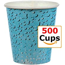 Café Express 3 oz. Paper Bath Cups, Multi-Use- 500 3 Ounce Bathroom cups - Comparable with Dixie Cups