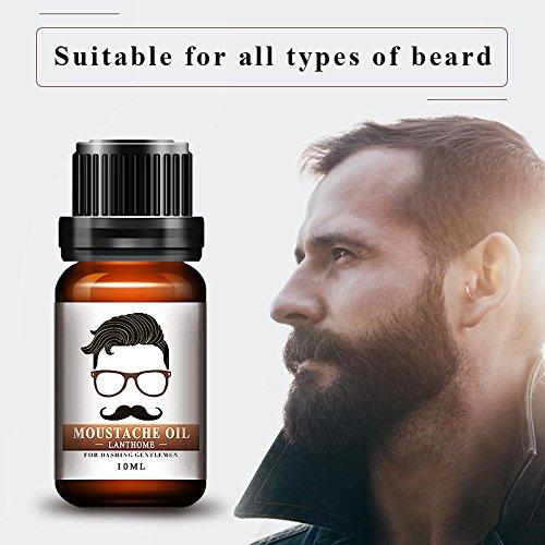 Yiwa 10 ml Natural Multi-Functional Men Beard Growth Oil Eyelash Hair Growth Essence Organic Conditioner