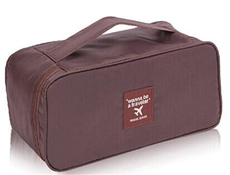 kaixuan esencial bag-in-bag, Viaje Almacenamiento Ropa interior Sujetador Organzier bolsillo con