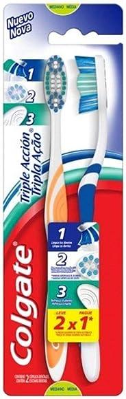 Escova Dental Colgate Tripla Ação 2unid Promo Leve 2 Pague 1