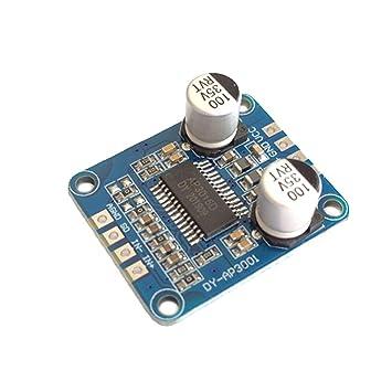 kofeilun YDA138 DC12V 2A 2x15W Módulo Amplificador Tarjeta ...