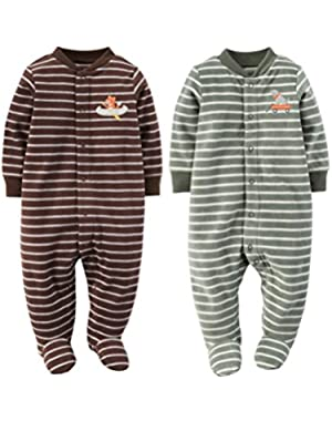 Carter's Baby Boys Fleece Pajamas Two Piece Set 3-9 months