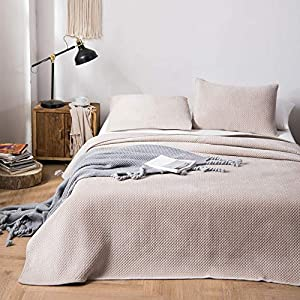 Kasentex Plush Poly-Velvet Lavish Design Quilt Set with Brushed Microfiber – Luxurious Bedding Soft & Warm Coverlet…