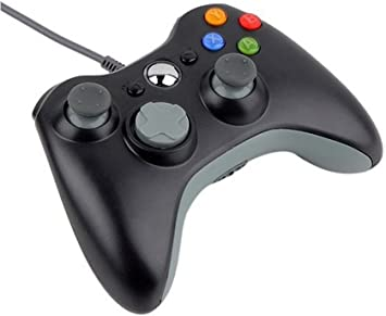Generic Wired USB Controller for PC & Microsoft Xbox 360 Negro Teclado para móvil: Amazon.es: Electrónica