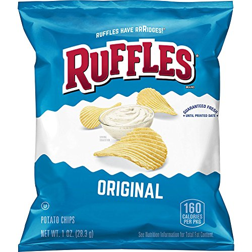Bag Of Ruffles Potato Chips - 1