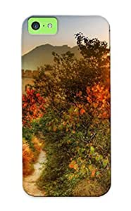 Crazinesswith VXFSuse1102KWdEB Case Cover Iphone 4/4s Protective Case Overgrown Path To The Great Wall Of China( Best Gift For Friends)