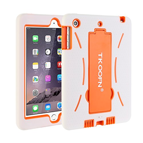 TKOOFN Shockproof Case With Stand For Apple iPad Mini White - 8