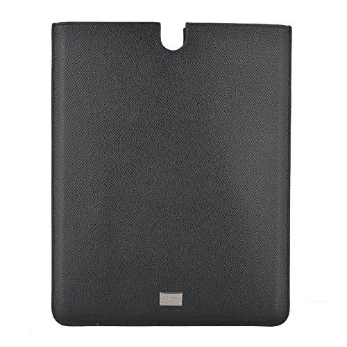 Dolce & Gabbana Black Leather Ipad2 Ipad Air Sleeve Case (And Unisex Gabbana Dolce)