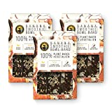 Ipanema Valley Smoothie Bowl Bars - Banana w/ Coconut & Sesame Seeds - 3 Pack (12 Bars) - Plant Based Gluten Free Healthy Snacks for Adults   Breakfast Bar Alternative