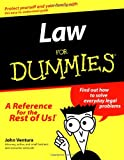 Law for Dummies, John Ventura, 1568848609