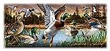 Wildlife Collage Series 15oz Stoneware Coffee Mug (Mallard Duck)