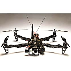 TBS Discovery Pro Gimbal Frame for Aerial Photography and Video - Tried and proven frame design - based on the world's most popular FPV quad!