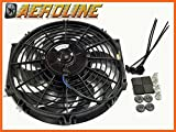 12' Aeroline 120W 12v Electric Radiator Cooling Fan Universal Fitting