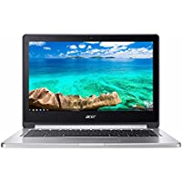 Flagship Acer R13 13.3 Full HD IPSTouchscreen 2-in-1 Convertible Chromebook, MediaTek Quad-Core 2.1GHz, 4GB RAM, 32GB SSD, 802.11ac, Bluetooth, HD Webcam, HDMI, up to 12hr Battery Life, Chrome OS