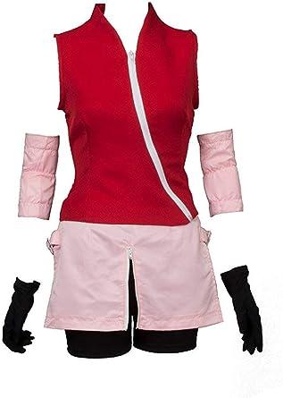 CosplayLife Naruto Shippuden Sakura Haruno disfraz de cosplay para ...