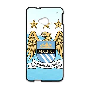 Manchester City Badge Cell Phone Case for HTC One M7