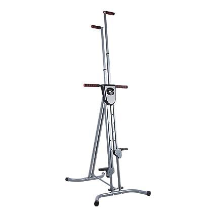 Mejor fitness vertical Climber ejercicio máquina de entrenamiento Stepper equipamiento, plegable y portátil diseño,