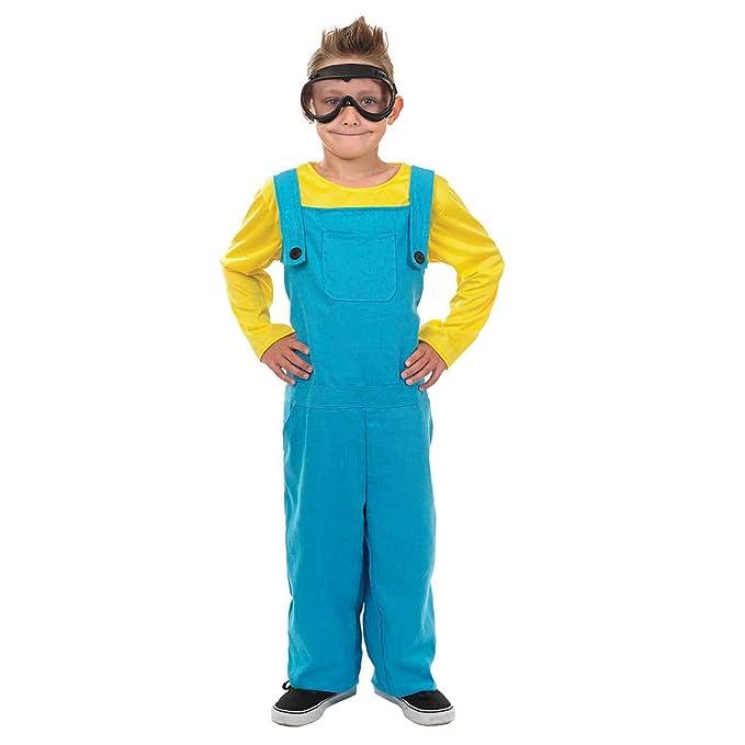 Minions Welder Boy /& Girl Fancy Dress Costumes