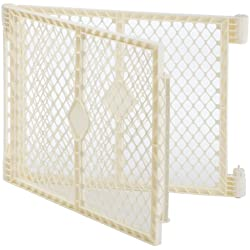 "Superyard Ultimate Play Yard 2-Panel Extension by North States - Compatible with Superyard Ultimate (Increases width up to 48"", ivory)"