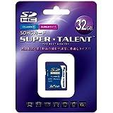 スーパータレント SDHCメモリーカード 32GB Class10 ST32SDC10