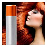 NEW Fantasy Ladies Girls Party Carnival Outfit Accessories UNISEX TEMPORARY HAIR COLOUR SPRAY BY ANGIES FASHION (Orange Hair Spray)
