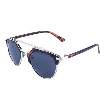 des lunettes de soleil,LHWY Les hommes femmes plient vers le haut des lunettes de soleil en miroir en plein air (Or, A)