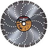 Falcon Diamond 14'' Gold Series Laser Welded Turbo Blade with holes