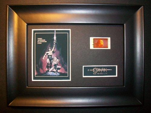 CONAN THE BARBARIAN Framed Film Cell Display Collectible Movie Memorabilia po...