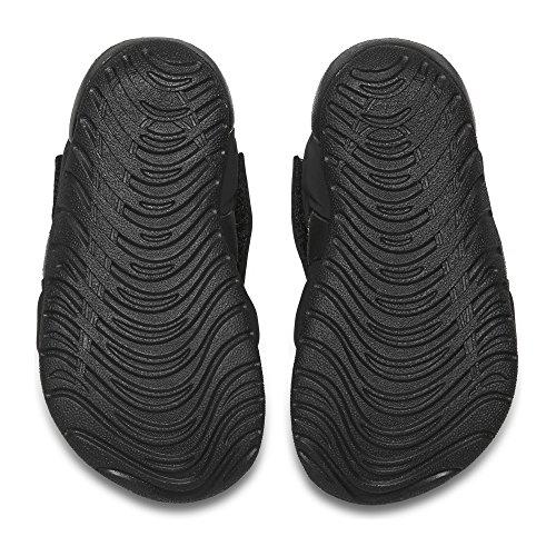 NIKE Toddler Sunray Protect 2 (TD) Black White Size 5 - Image 2
