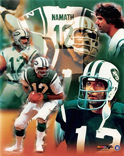 sneakers for cheap cebe8 40d4a Joe Namath Unsigned 8x10 photo (New York Jets) Image #3 ...