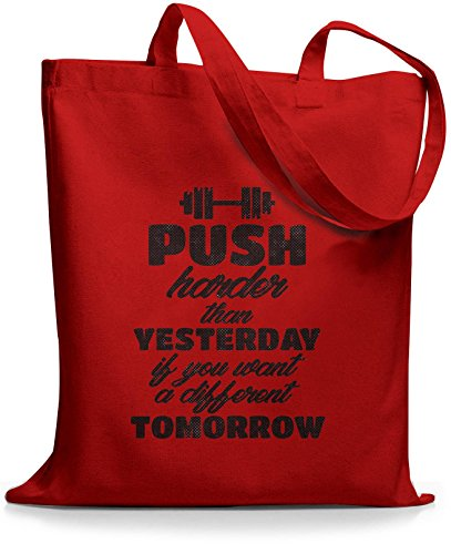 Stylotex - Tote Bag Cotton Mens One Size Red