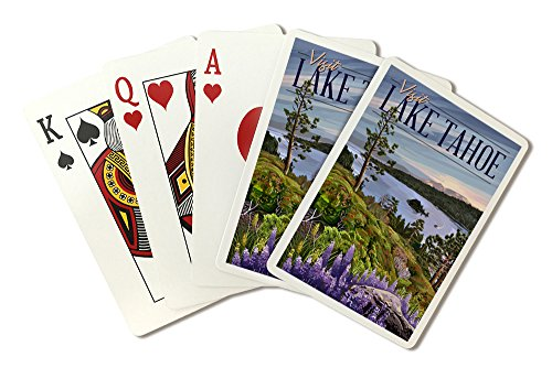Emerald Bay State Park - Lake Tahoe (Playing Card Deck - 52 Card Poker Size with Jokers)