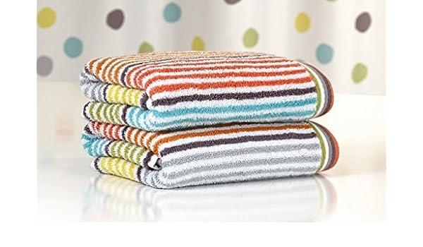 F & S CONFETI un Juego de 3 toallas de mano y baño / ducha (30 x 50 cm, 50 x 100 cm y 70 x 140 cm).