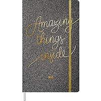 Caderno Costurado G. Pontilhado Fitto com 80 Folhas Shine Tilibra