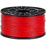 NuNus ABS Filament 1kg für 3D Drucker MakerBot RepRap MakerGear Ultimaker uvm. (rot, 1,75mm)